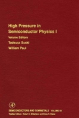 High Pressure Semiconductor Physics I