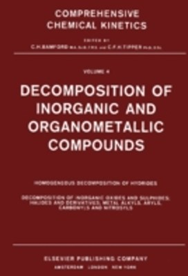 Decomposition of Inorganic and Organometallic Compounds