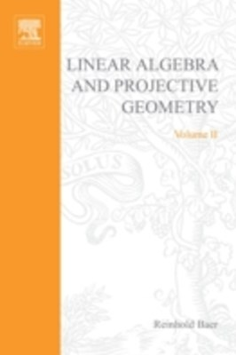(ebook) Linear Algebra and Projective Geometry