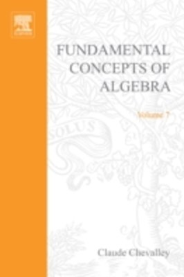 (ebook) Fundamental Concepts of Algebra