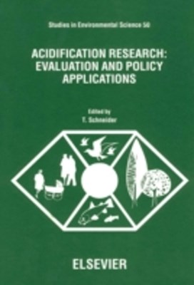 Acidification Research: Evaluation and Policy Applications