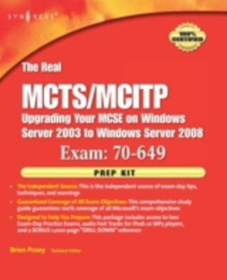 Real MCTS/MCITP Exam 70-649 Prep Kit