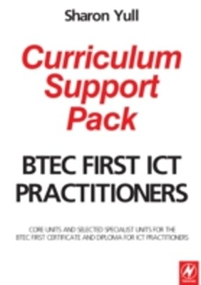 (ebook) BTEC First ICT Practitioners Curriculum Support Pack