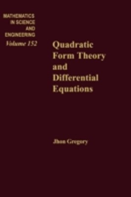 Quadratic Form Theory and Differential Equations