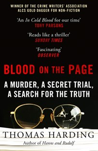Blood on the Page by Thomas Harding (9780099510925) - PaperBack - Politics Political Issues
