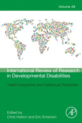 (ebook) Health Disparities and Intellectual Disabilities