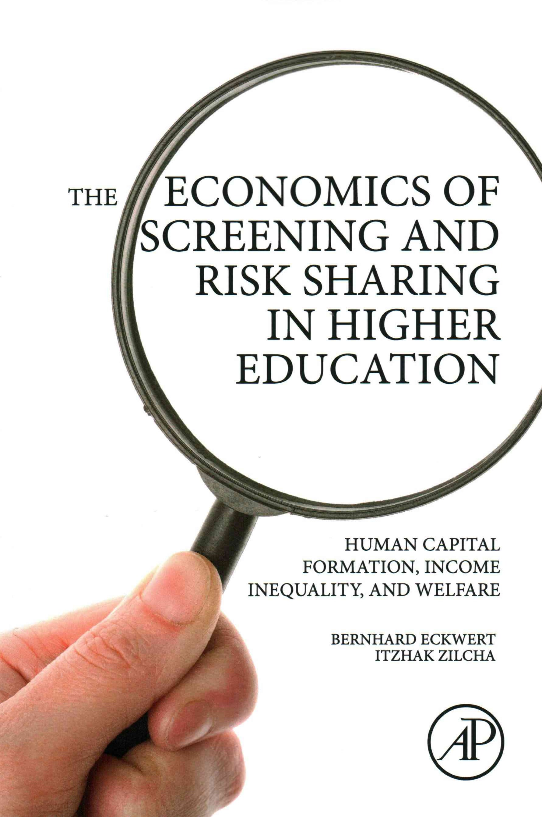 Economics of Screening and Risk Sharing in Higher Education
