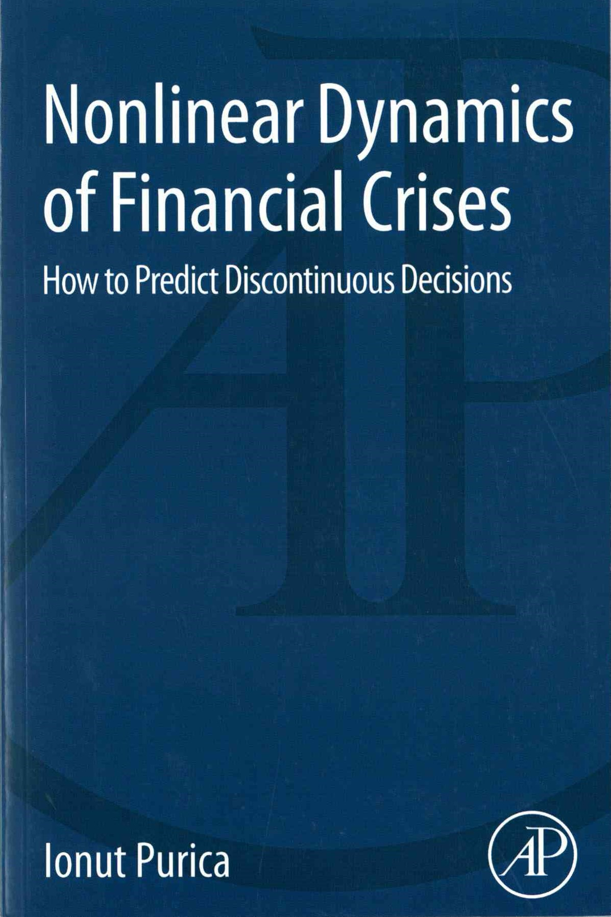 Nonlinear Dynamics of Financial Crises