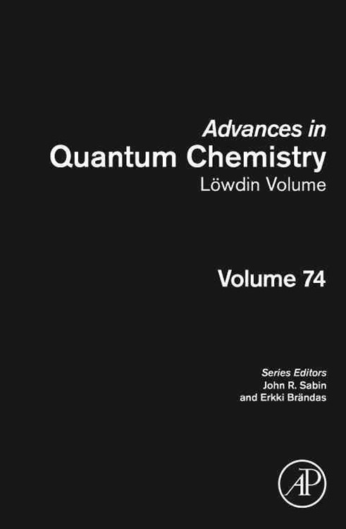 Advances in Quantum Chemistry: Lowdin Volume
