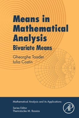 (ebook) Means in Mathematical Analysis