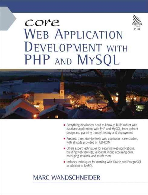 Core Web Application Development with PHP and MySQL