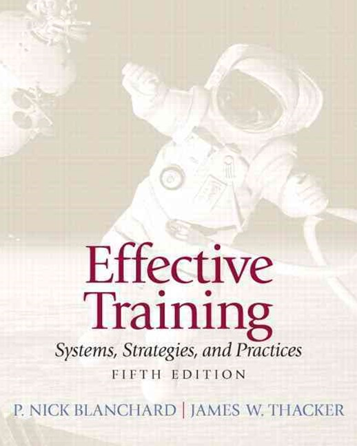 Effective Training