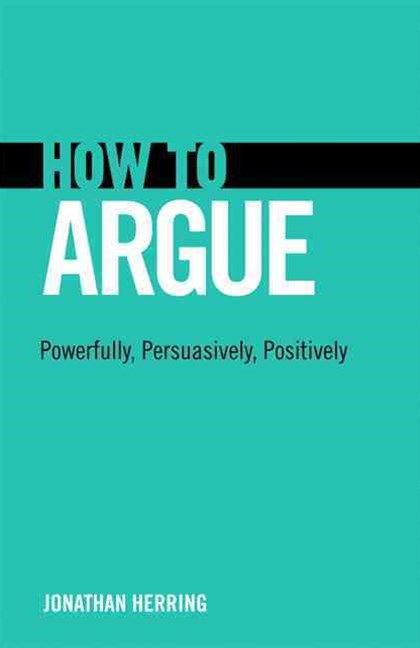 How to Argue