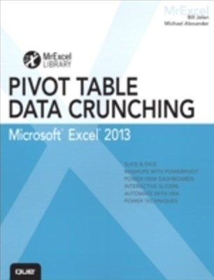 (ebook) Excel 2013 Pivot Table Data Crunching