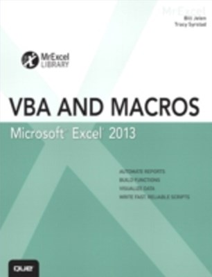 (ebook) Excel 2013 VBA and Macros