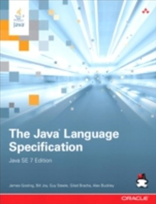 (ebook) Java Language Specification, Java SE 7 Edition