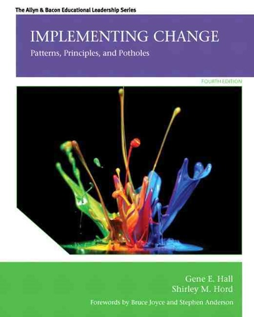 Implementing Change: Patterns, Principles, and Potholes