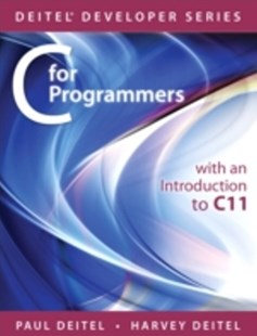 (ebook) C for Programmers with an Introduction to C11 - Computing Programming