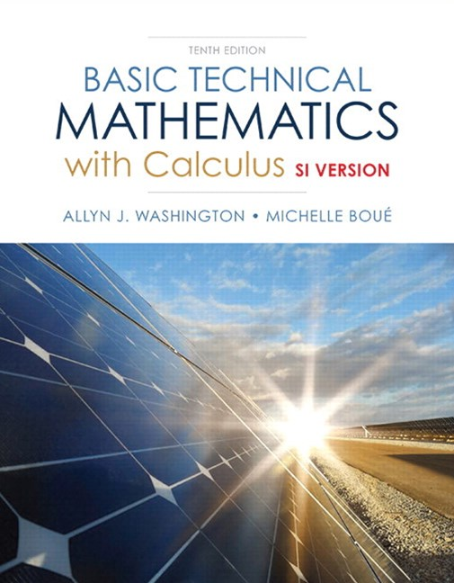 Basic Technical Mathematics with Calculus, SI Version + MyLab Math with eText