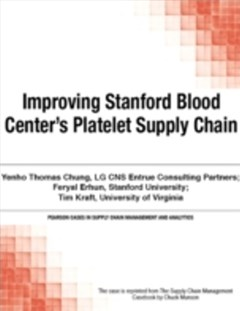 Improving Stanford Blood Center