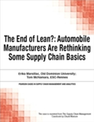 The End of Lean?
