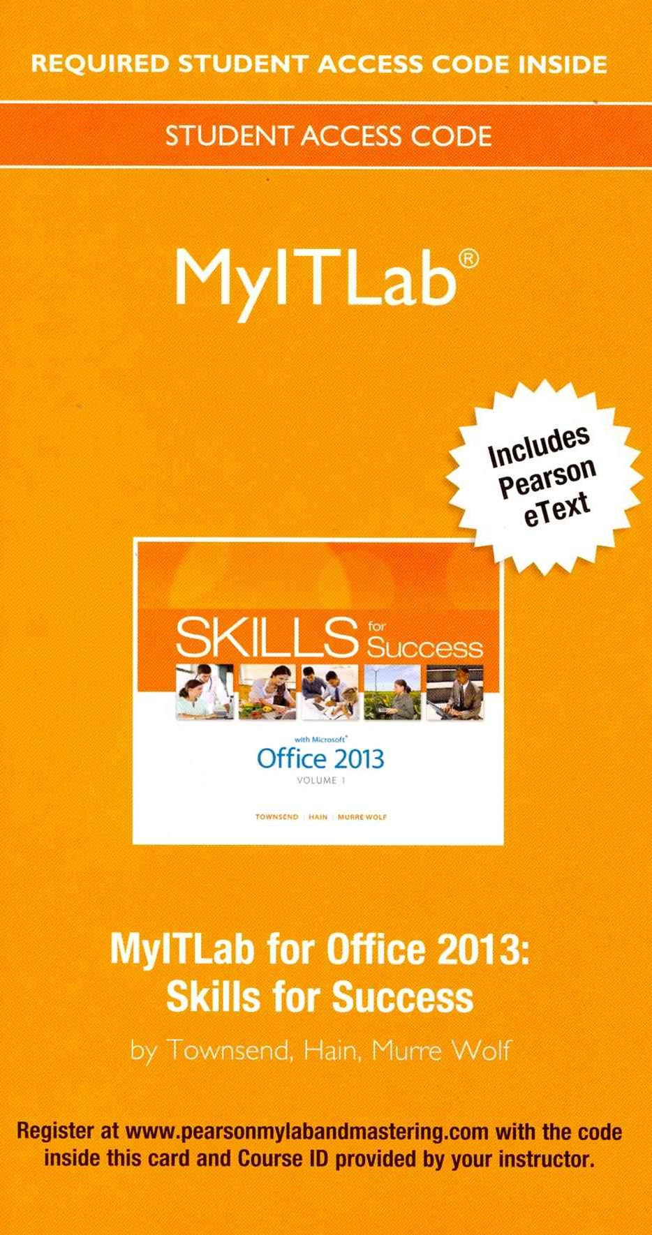 Skills for Success with Office 2013