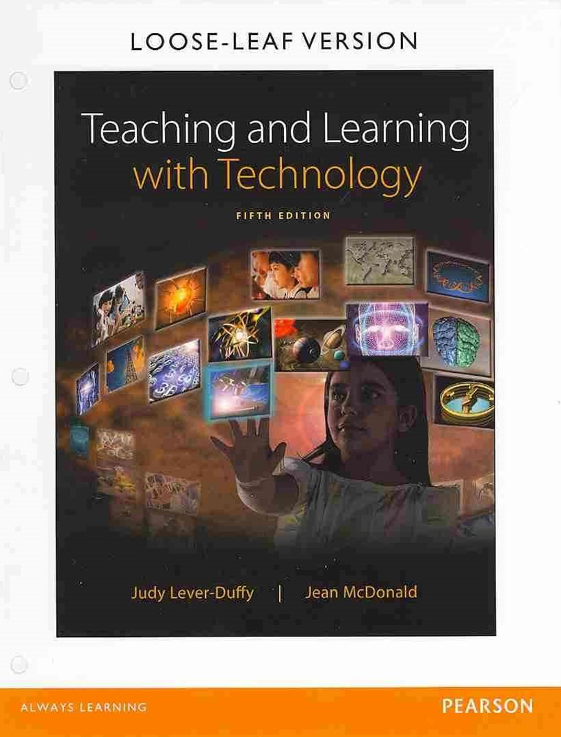 Teaching and Learning with Technology