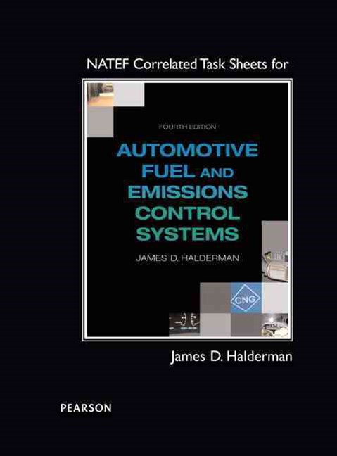 NATEF Correlated Task Sheets for Fuel and Emissions Control Systems