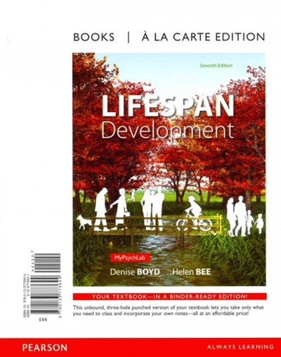 Lifespan Development, Books a la Carte Plus NEW MyPsychLab with EText -- Access Card Package
