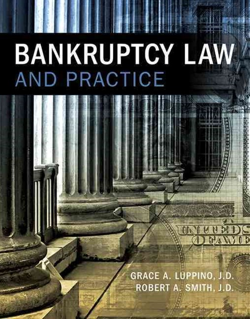Bankruptcy Law and Practice for Paralegals