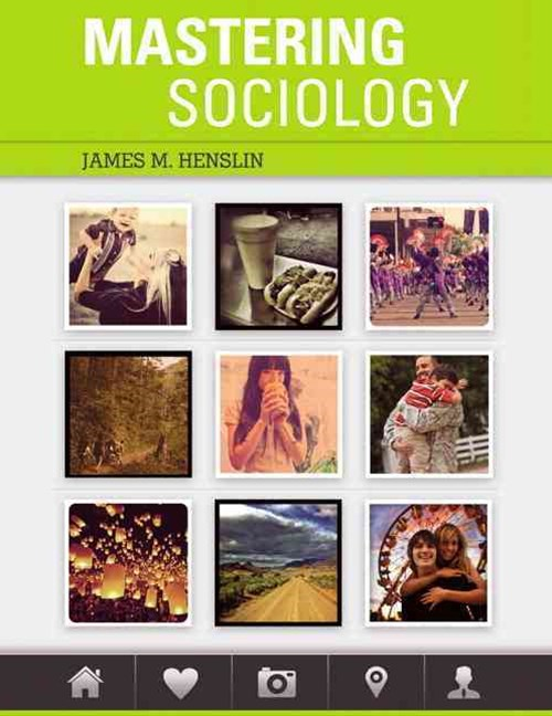 Mastering Sociology Plus MySocLab with Pearson EText -- Access Card Package