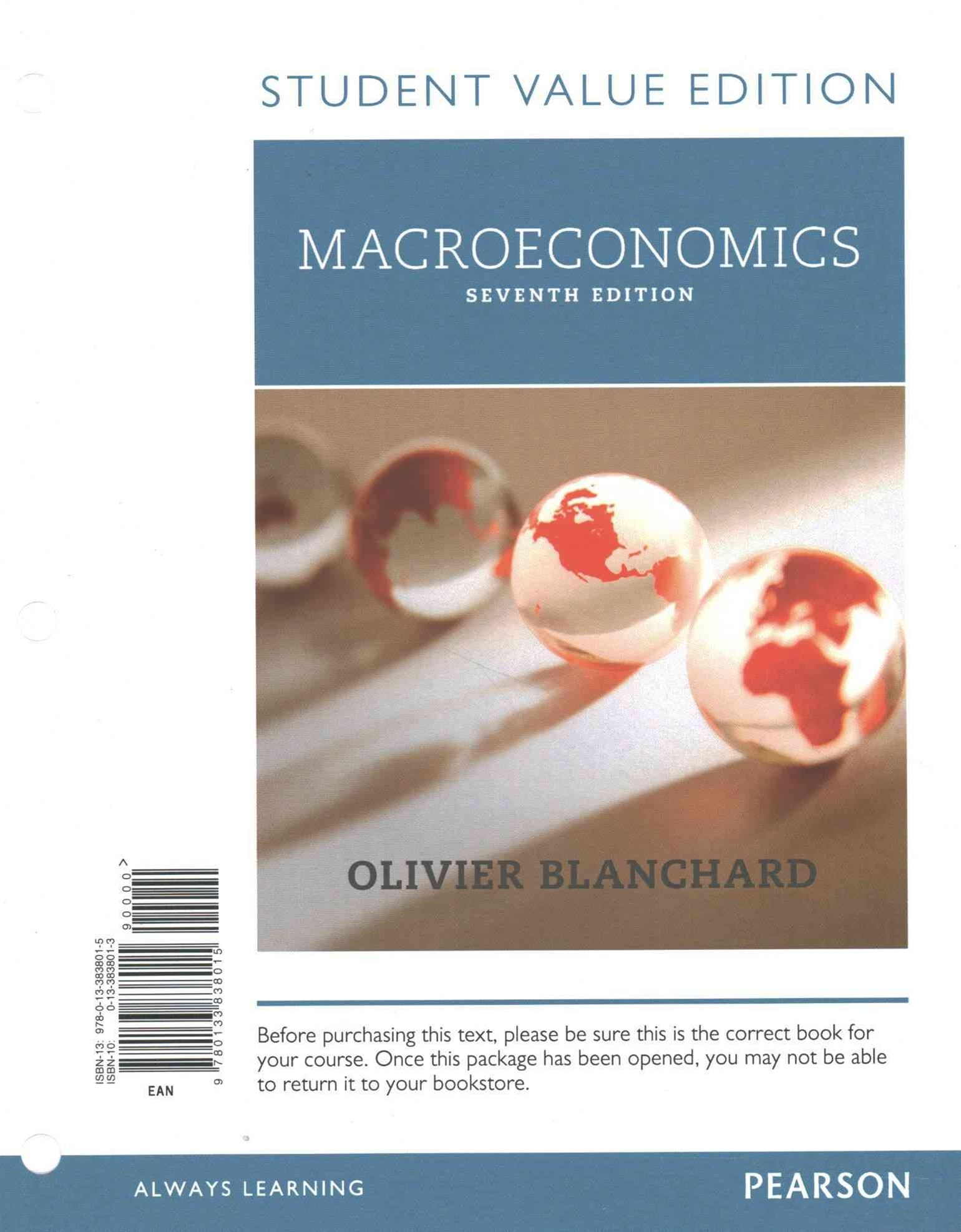Macroeconomics, Student Value Edition