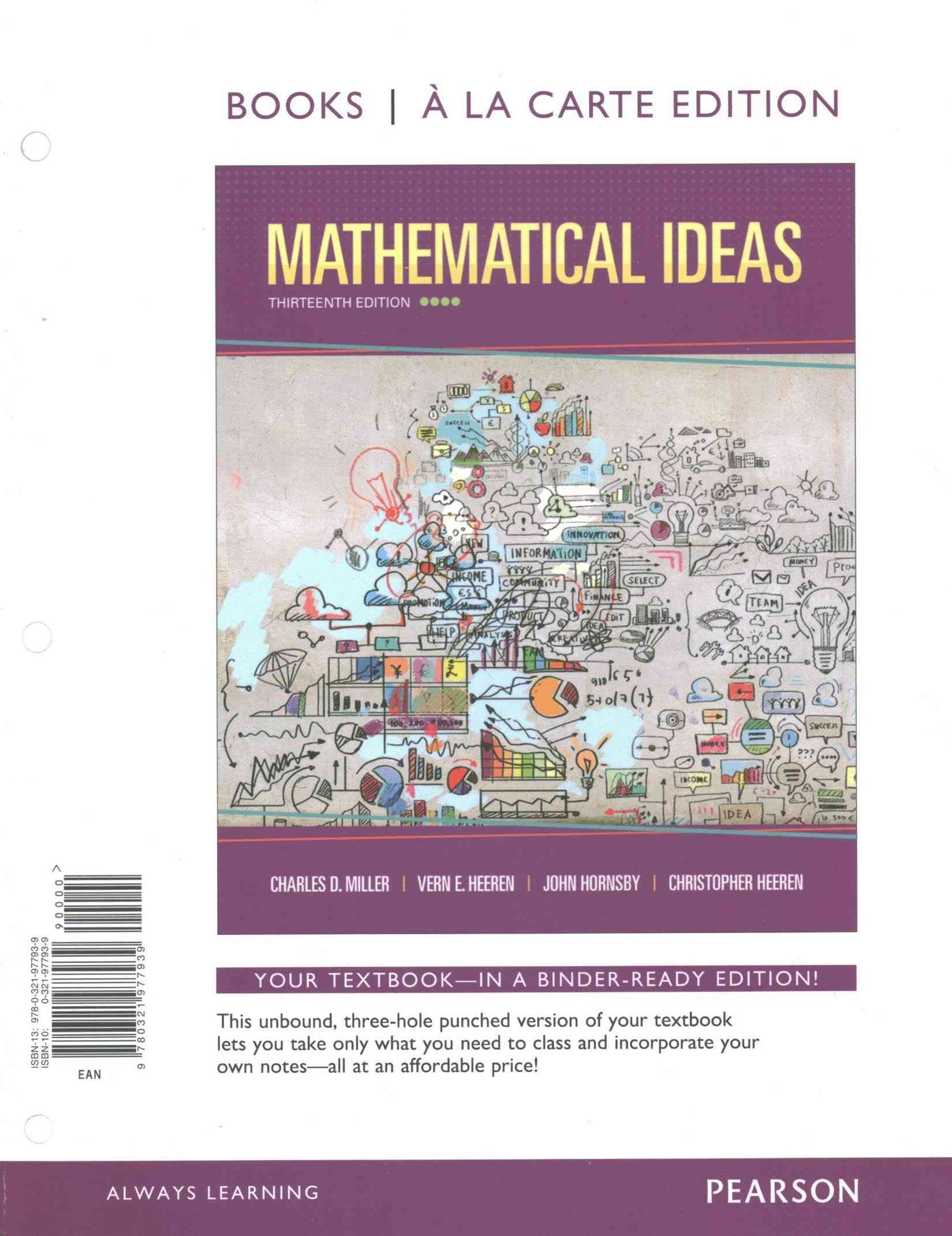 Mathematical Ideas, Bools a la Carte Edition Plus NEW MyMathLab with Pearson EText -- Access Card P