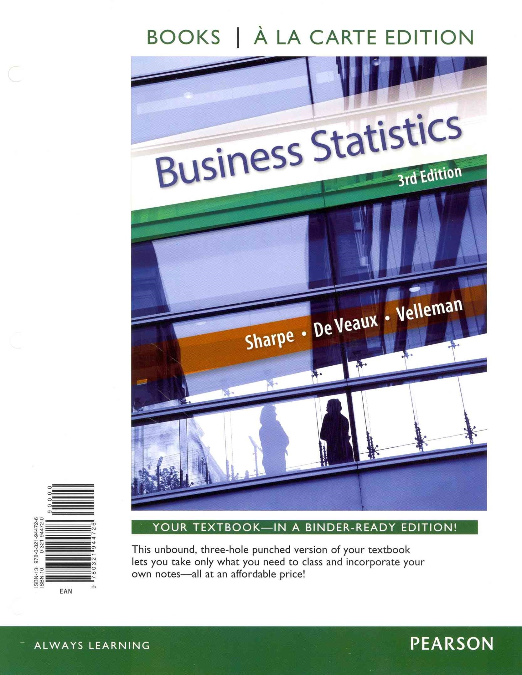 Business Statistics Student Value Edition Plus NEW MyStatLab with Pearson EText -- Access Card Pack