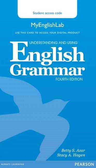 Understanding and Using English Grammar MyEnglishLab (Access Code Card)
