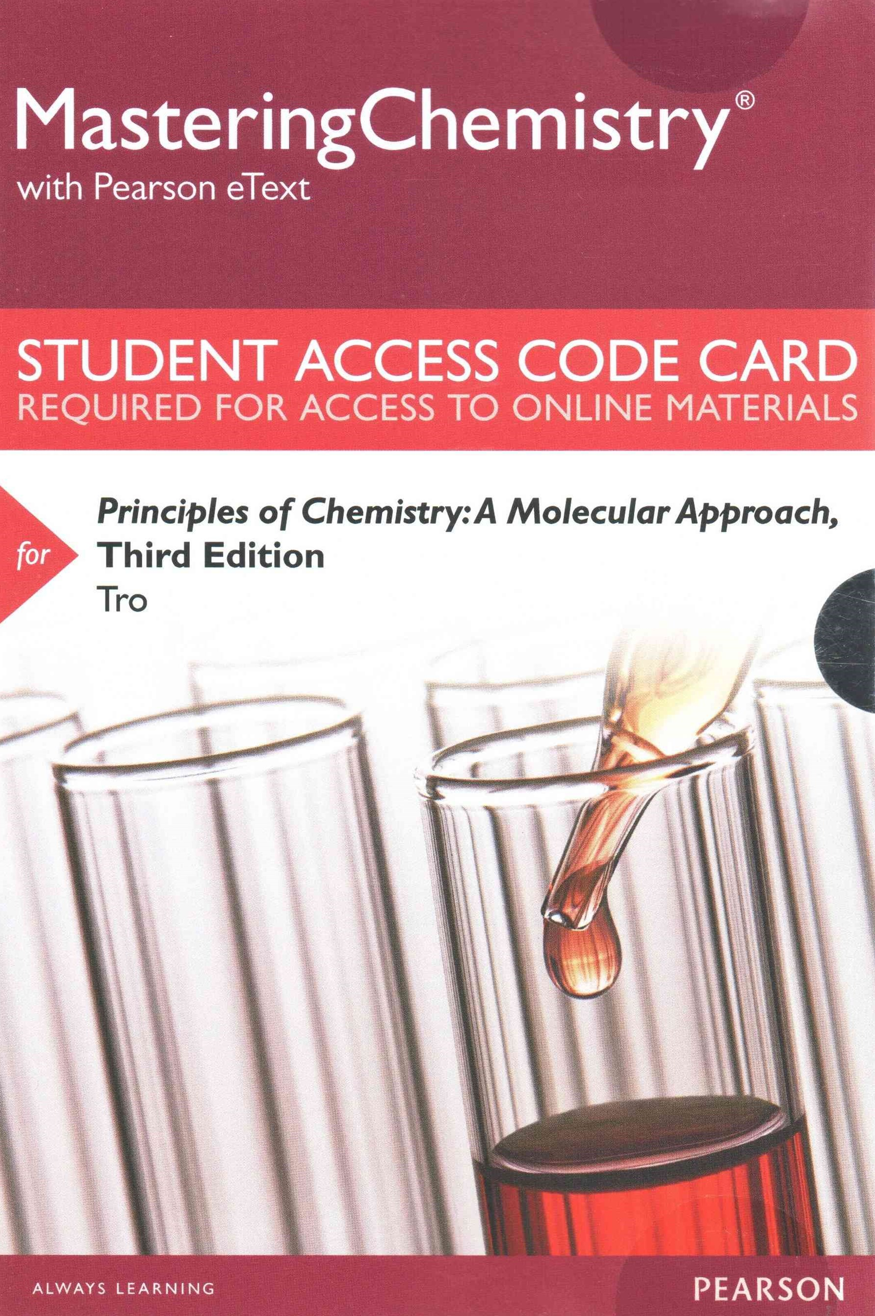 MasteringChemistry with Pearson EText -- Standalone Access Card -- for Principles of Chemistry