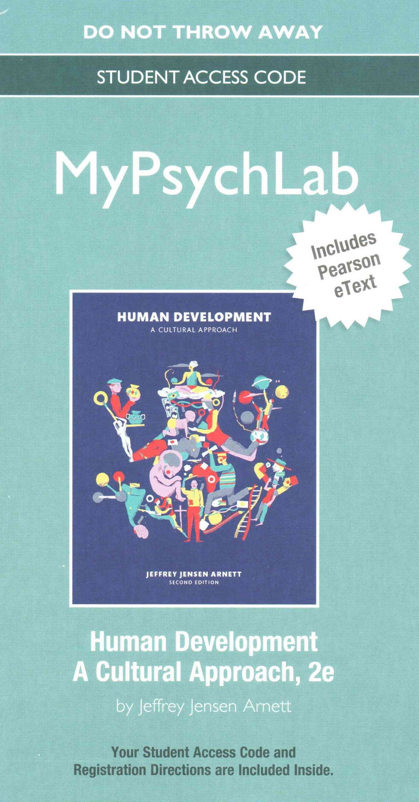 NEW MyPsychLab with Pearson EText -- Standalone Access Card -- for Human Development