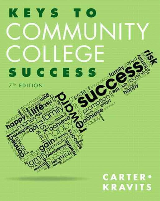 Keys to Community College Success Plus NEW MyStudentSuccessLab with Pearson EText -- Access Card Pa