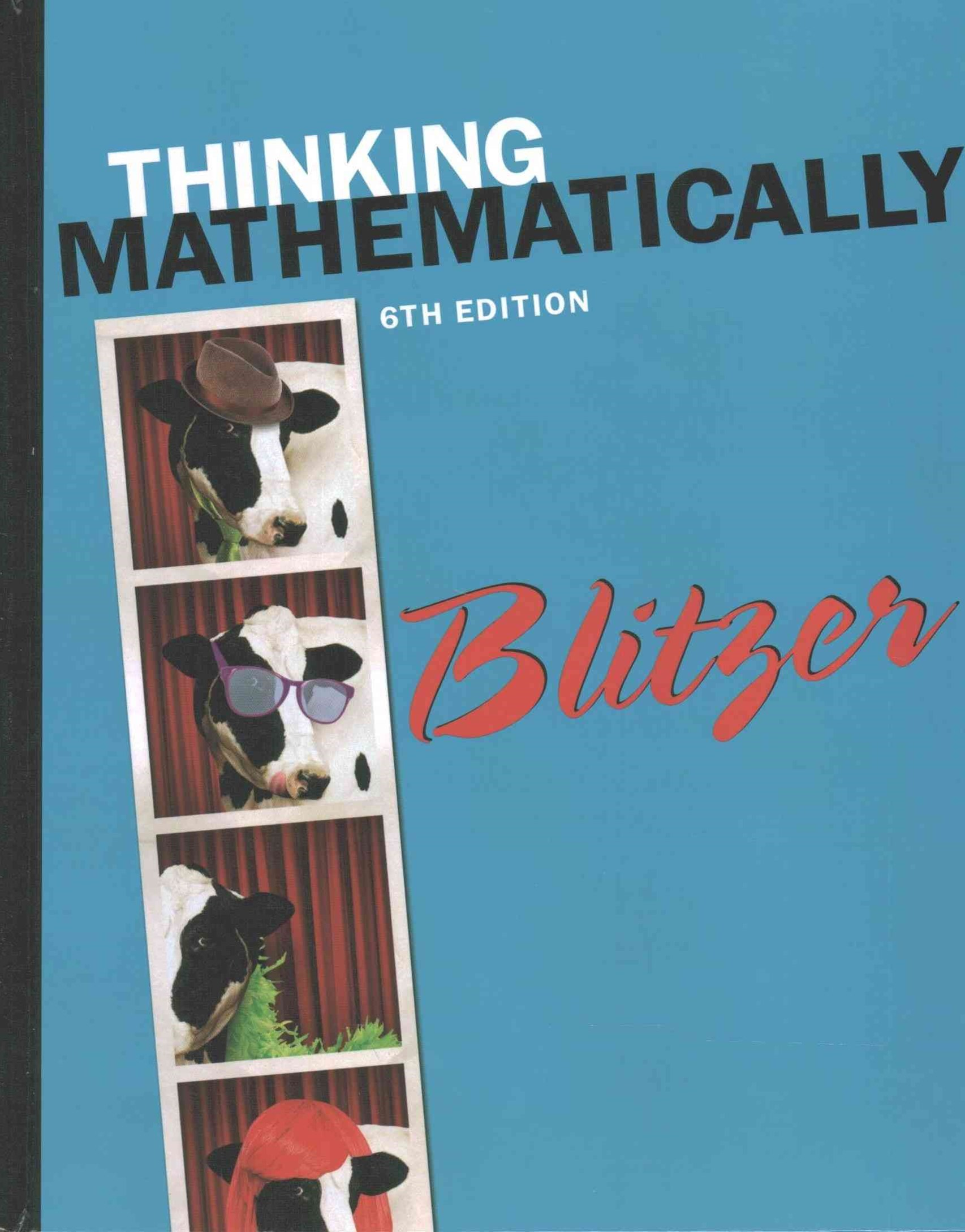 Thinking Mathematically; MyMathLab -- Valuepack Access Card; Student's Solutions Manual for Thinkin