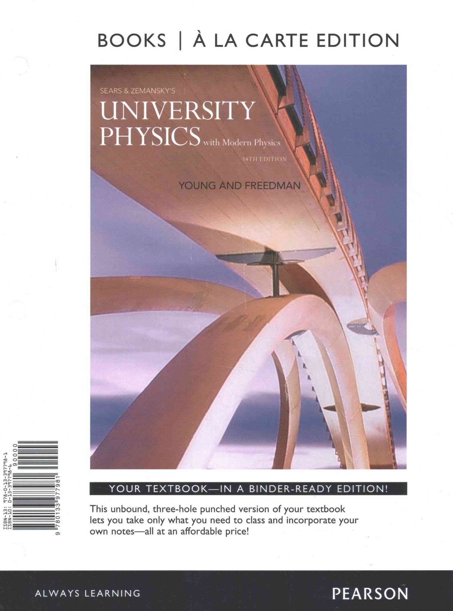 University Physics with Modern Physics, Books a la Carte Plus MasteringPhysics with EText -- Access