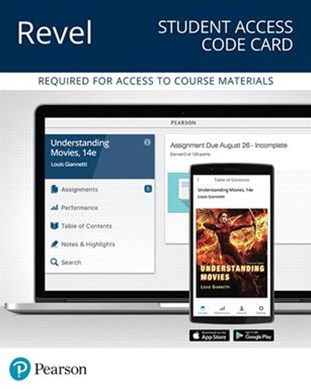 REVEL for Understanding Movies -- Access Card