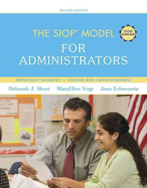 The SIOP Model for Administrators