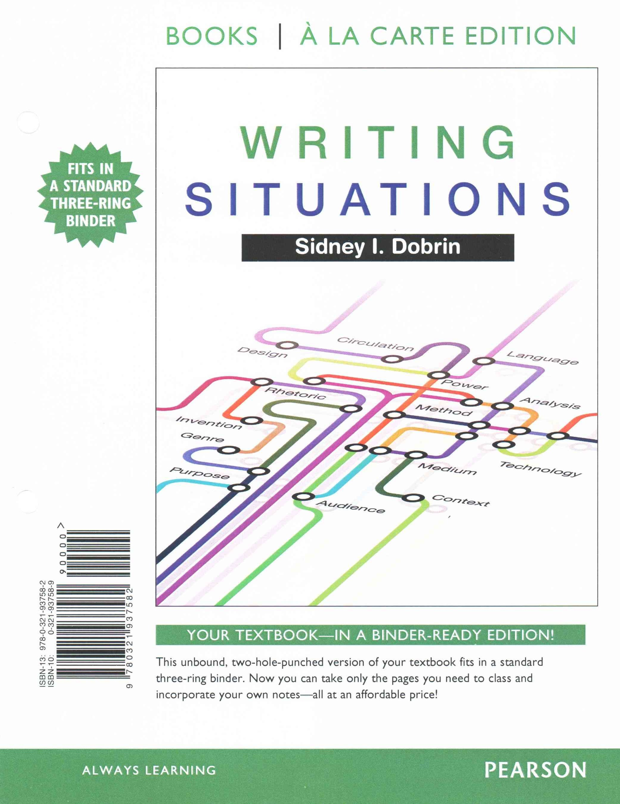 Writing Situations, Books a la Carte Plus MyWritingLab with Pearson EText -- Access Card Package