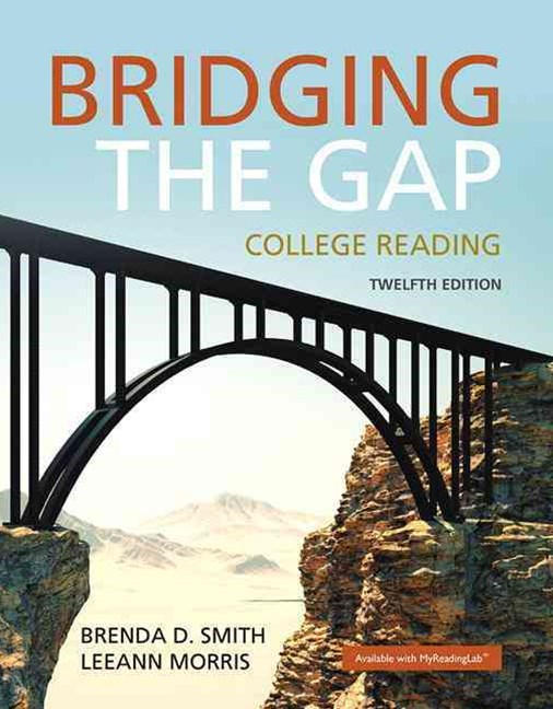 Bridging the Gap Plus MyReadingLab with Pearson EText -- Access Card Package
