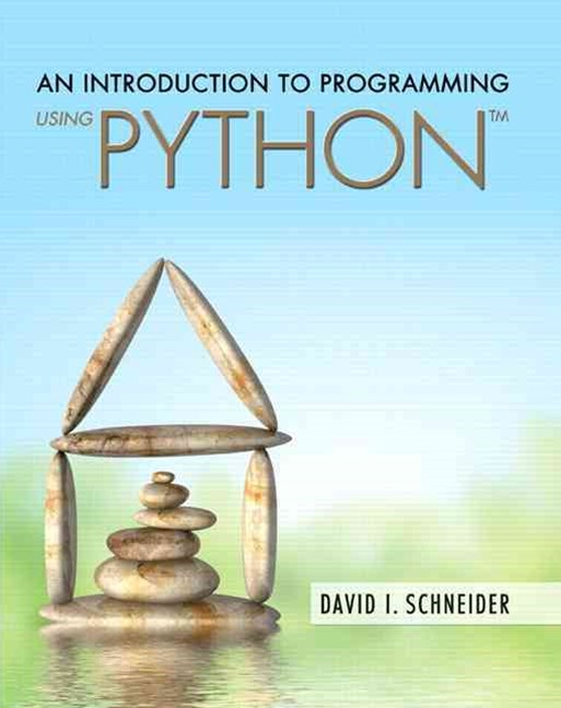 An Introduction to Programming Using Python Plus MyProgrammingLab with Pearson EText -- Access Card