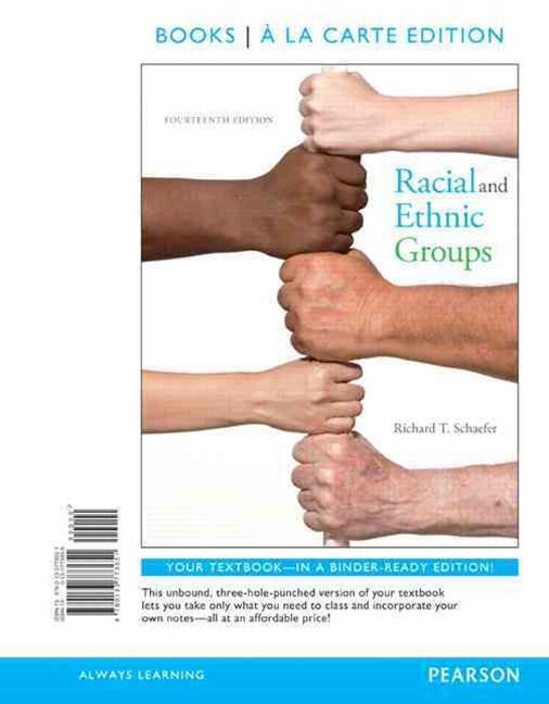 Racial and Ethnic Groups Books a la Carte Edition Plus REVEL -- Access Card Package