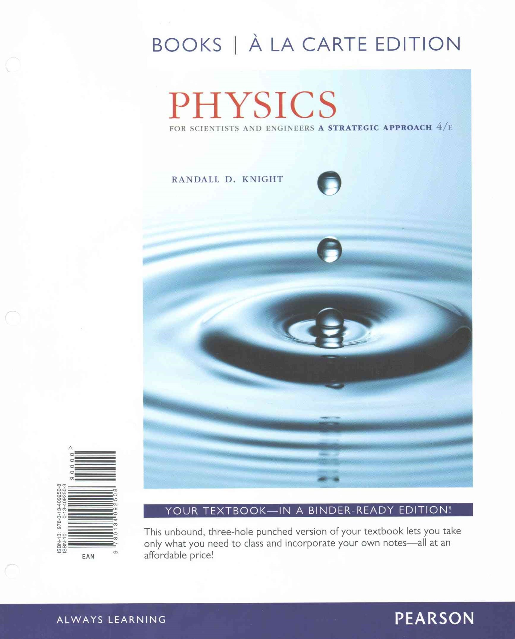 Physics for Scientists and Engineers, Books a la Carte Plus MasteringPhysics with EText -- Access Card Package