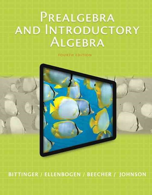 Prealgebra and Introductory Algebra Plus MyMathLab with Pearson EText