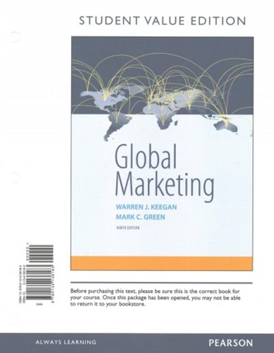 Global Marketing, Student Value Edition