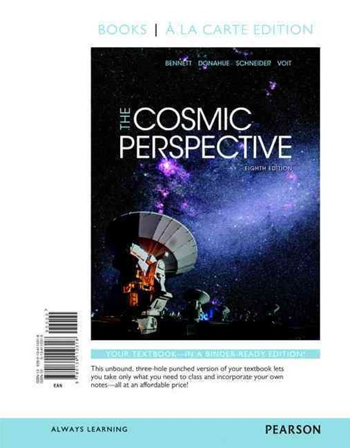 Cosmic Perspective, the, Books a la Carte Plus MasteringAstronomy with EText -- Access Card Package